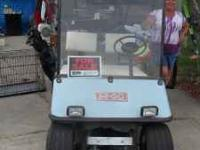 Galf Cart Battery operated with charger needs new