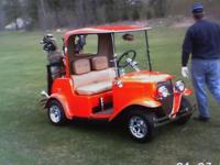 """FABULOUS ONE OF A KIND""-- THIS CART TURNS HEADS--32"
