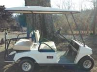 Golf Cart....this is an Electric Club Car, it runs