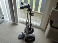 Golf Digest Light Weight Pull Cart Wide wheel base