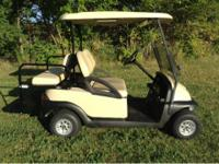 For sale golf cart fold-down backseat lights windshield