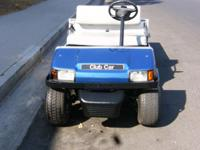 Club Car Golf Cart for sale. This Club Car seats 2 and