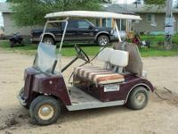 Golf cart - runs good. $400.00 or best offer. used to
