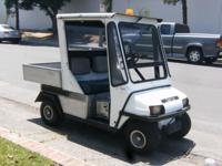 2001 Club Car Carry-All I for sale! It has good tires,