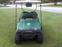 I have a EZ-GO Golf Cart for Sale. It has a new top,
