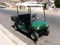 I have an EZ-GO Workhorse 800LX Golf Cart for sale!