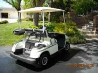 1997 Yamaha gas cart, like new, no longer playing golf,