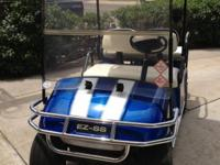 Golf Cart with stereo and speakers, eletric battery