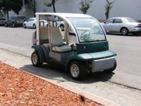 Golf Cart Ford Think Electric Car 4 Seater Utility Cart