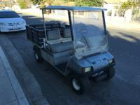 Gas Powered Club Car Carry-All 2 for sale. This cart is