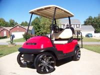 Several gas golf carts... All dealer serviced and