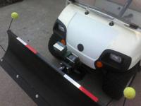 2006 Yamaha Gas Powered Golf Cart w/ Snow Blade * 52""
