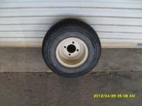 GOLFCART WHEELS AND TIRES 18X8 4 PLY CALL AT  Location: