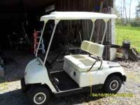 Golf Cart by Yamaha, 48volts DC runs good. Will