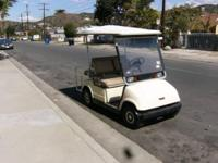 Yamaha Golf Cart for sale. It is fast and has