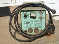 Here is a GOOD WORKING 36 VOLT Lester-Matic Golf-Cart