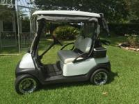 1-2008 club car, full enclosure and bag cover