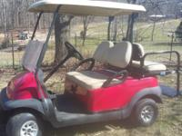 We have a new shipment of Golf Carts...Several GAS