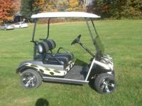 We have golf carts starting at $1200 for 2000-2001 Club