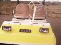 1983 Yamaha G1 Golf chart. Very clean, runs great, good