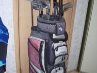 GOLF CLUB & BAG_____GREAT CHRISTMAS GIFT FOR ANY GOLFER