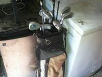 I have a collection of knight Electra golf clubs.