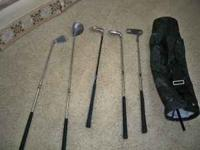 Quality clubs for young golfers starting out. Bought
