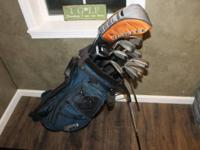 Extra sets of golf clubs for sale.  Complete set plus