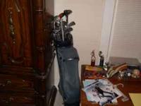 I have an old set of golf clubs for sale and they are