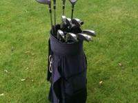 Full set of MacGregor Heritage Classic golf clubs with