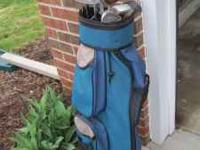 Nice set of golf clubs with bag. 14 clubs included.