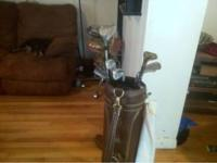 Selling golf clubs w/ bag have Wilson, FX, Spalding and