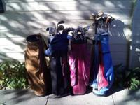 I have approximately 50 miscellaneous golf clubs and 4