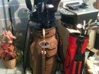 GOLF CLUBS , BAGS ,BALLS, PUTTERS, DRIVERS, FAIRWAY