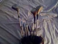 Full set of 90s model wilson clubs. Great starter set