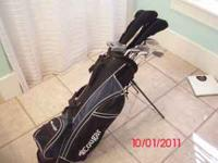Set of nice golf clubs used about 5 times a year for