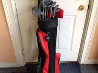 Full set of Wilson Golf Clubs plus 1 extra driver.