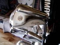 ben hogan with new grips good set of clubs also comes