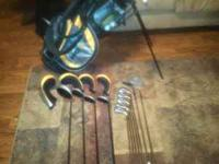 Nice set of aspire golf clubs barely used i would rate