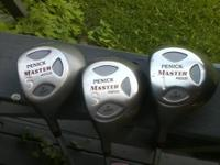 SET OF LEFT HANDED GOLF CLUBS PLUS MORE: Driver...