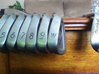 I have a set of PING i3 irons in great shape. The set
