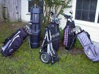 FOR SALE - Ive got several sets of golf clubs with bags