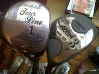 Golf clubs, stand bag & accessories. Right-handed. 15
