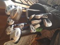 Golf Clubs, Wilson Pro Staff, Graphite Woods, PING