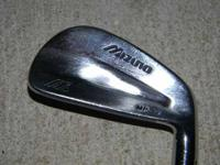Used Mizuno MP 32 iron set in good condition. 3 iron