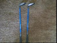 Offering this starter set of Tommy Armour golf clubs.