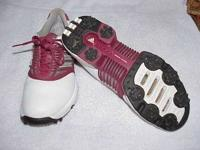 "I have a wide selection of ""experienced"" golf shoes in"