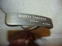 Used but in great condition is this Scotty Cameron