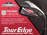 Heres a fascinating offer by Tour Edge; an iron series