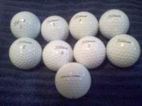 Used golf balls in good condition. Prov1's 15 balls for